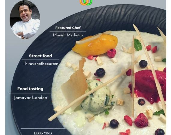 Cover page Fine dining indian Food Magazine - July 2017 Issue 5