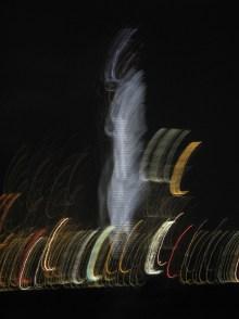 Hong Kong lights.