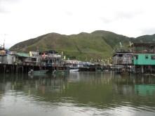 Lantau Island fishing village.