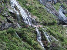 Waterfall crossing