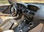 Detailed BMW interior