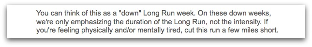 Week 10 Long Run Instructions