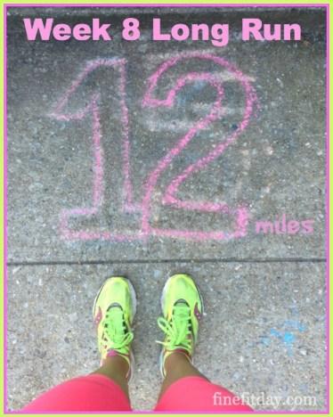 Week 8 Long Run
