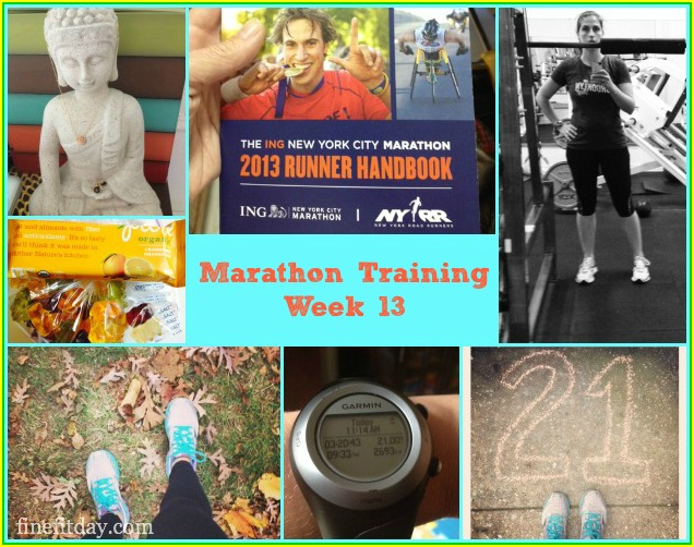 Marathon Training Update Week 13 - Ultimate Long Run
