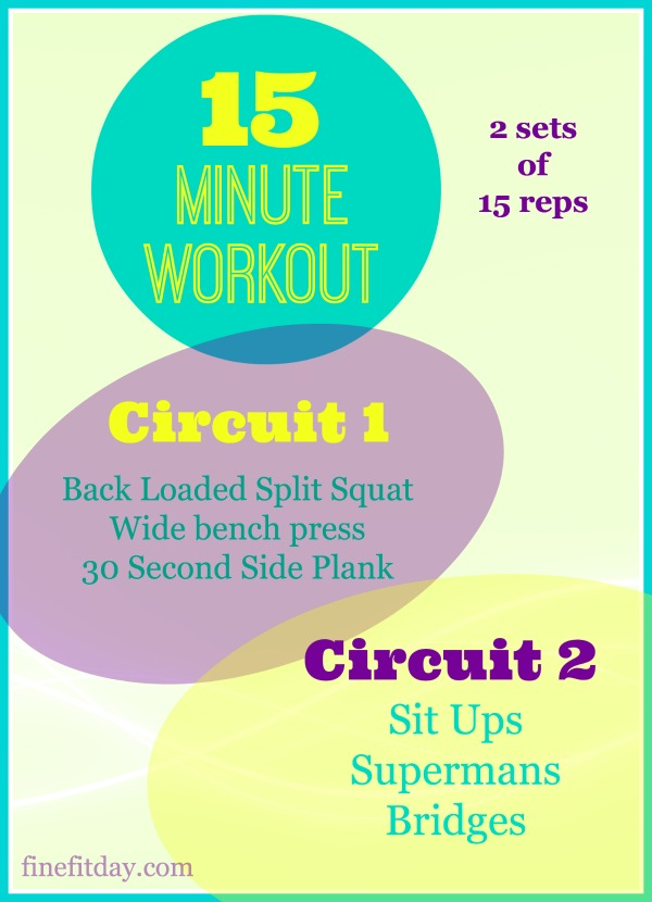 15 minute workout #3