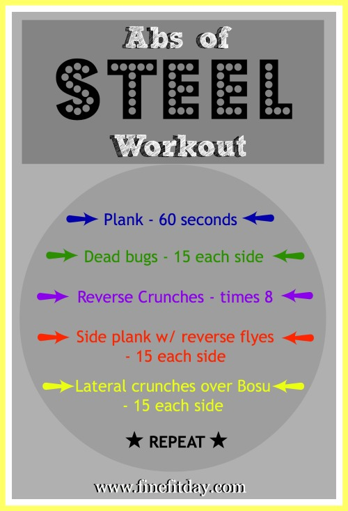 15 Minute Abs Workout - Fine Fit Day