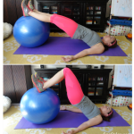 Exercise Ball Workout (and some link love)