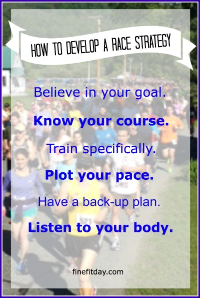 How to Develop a Race Strategy