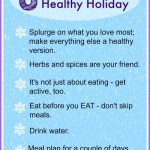 Tips for Planning a Healthy Holiday Menu