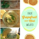 Grapefruit Mint Faux Mojito Recipe