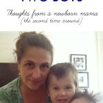 On Life With Two Boys – Three Months Postpartum