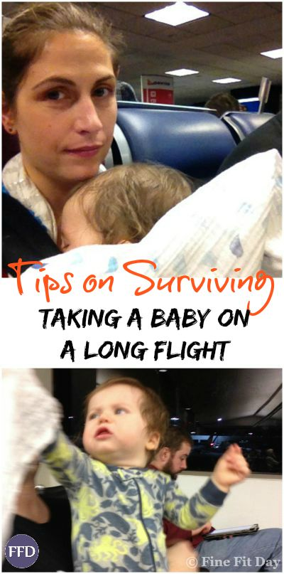 That Time I Took a Baby on a Plane to Australia - read all the way through for great tips on how to keep a baby entertained and happy on a long flight!