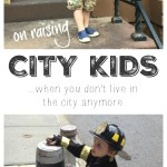City Kids - What is it like to raise a child in New York City, when your own childhood was as far removed from urban living as you could imagine? A look at how it feels to see your child experiencing growing up in a totally different environment.