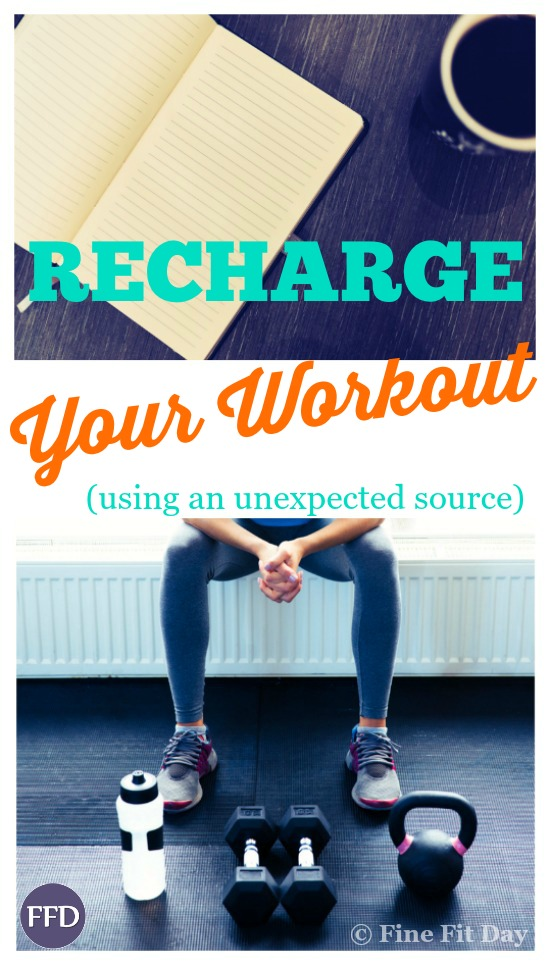 How to Recharge Your Workout. Inspiration can strike in the most unexpected places - check out these 5 tips and tricks to get you motivated and more productive in the gym (even though they're NOT originally workout tips!). This is a great guide to getting the most out of your time to exercise, to achieve your goals and get results, without stressing or getting sidetracked. | fitness motivation | creativity |