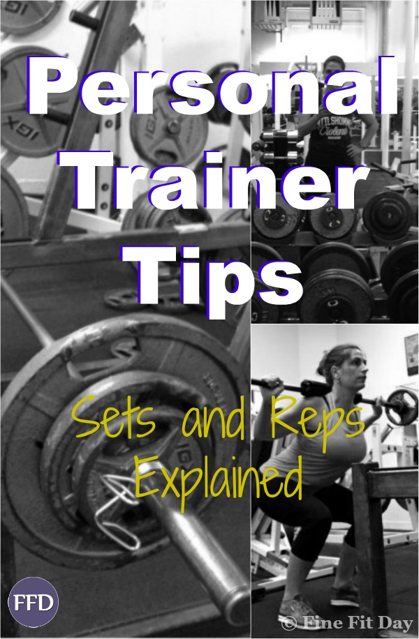 Trainer Tips: How Many Sets and How Many Reps? Do you have no idea what you're doing when it comes to how many sets and repetitions you should be doing in the gym when you're strength training? Are you confused about the difference between endurance, strength and power? Check out this article on how to work out what you should be lifting for your goals. | fitness | women | weights | personal training |