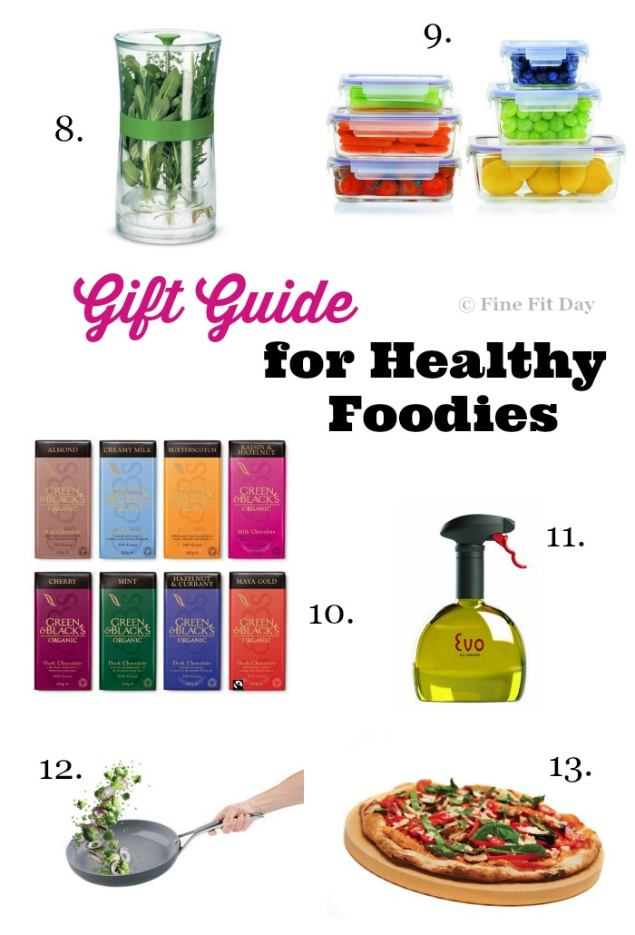 Healthy foodie gifts for christmas