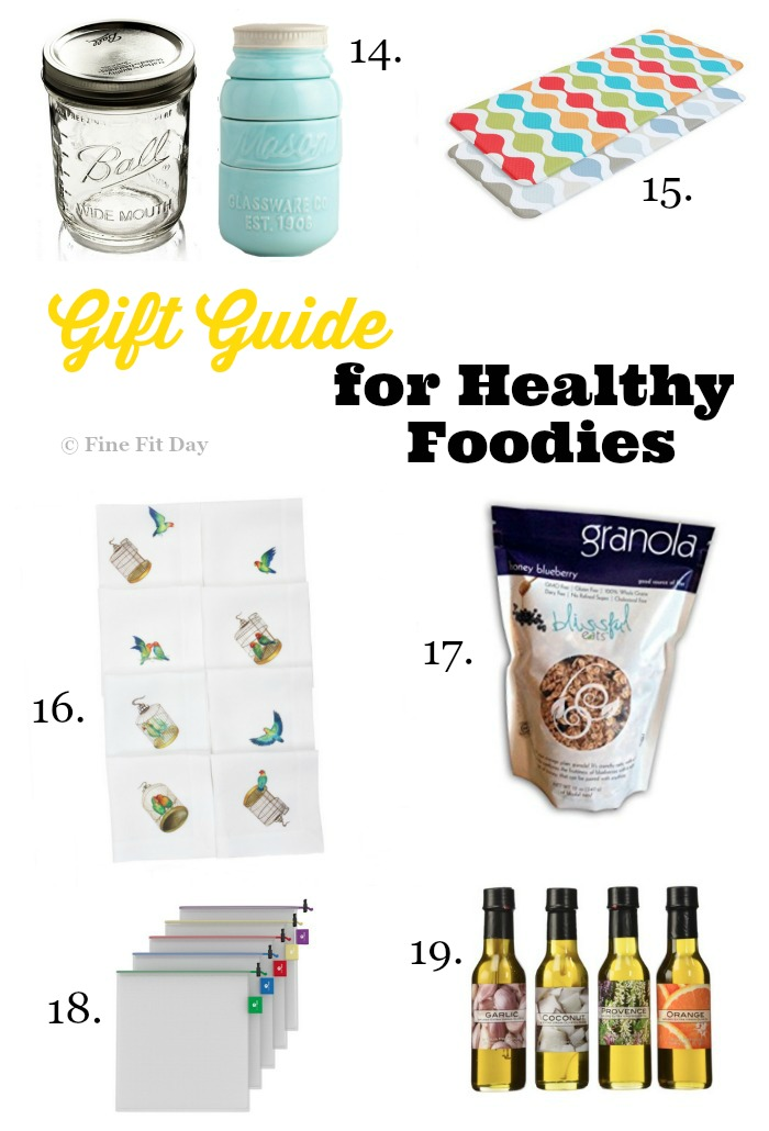 Gift Guide for Healthy Foodies. For the healthy cook in your life, all the foodie gifts and awesome kitchen gadgets that would make any chef happy! Great for Christmas, Hannukah, or as a hostess gift for a dinner party, there's something for everyone on this awesome list of cooking gifts.