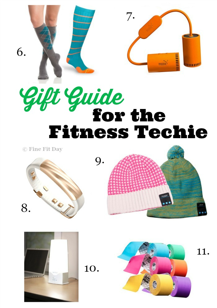 Gift Guide for Fitness Techies. Super advanced fitness gear, fitness gadgets , fitness equipment and ALL kinds of fitness tech! Lots of different price ranges on this gift guide for tech gifts for the workout warrior in your life means you'll definitely find the perfect gift! | exercise | workouts | technology |