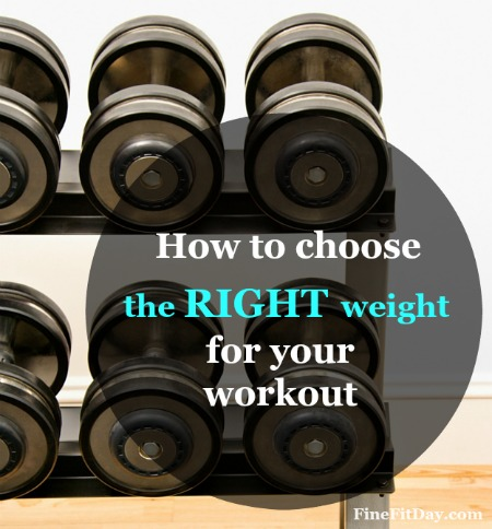 Trainer Tips - What Weights Should I Use? Confused about where to start picking weights at the gym? This simple, common sense guide to choosing weights for your strength training workout makes it easy.