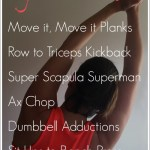 Monthly Workout Round Up – Upper Body Workout for Runners
