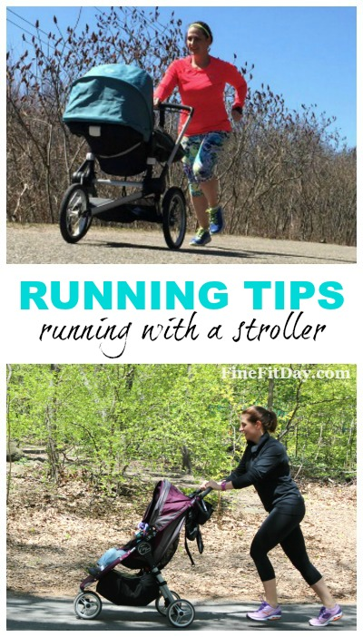 Running Tips - Running With a Stroller. Lots of great tips and info on how to run with a jogging stroller! The gear, the technique and keeping baby comfortable are all included. Great tips for mother runners!