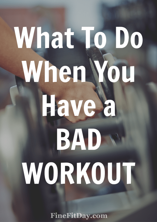 4 Questions to Ask When You Have a Bad Workout