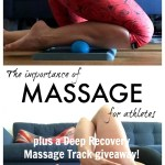 Why Massage is so Important for Athletes (plus a Deep Recovery Massage Track Giveaway)