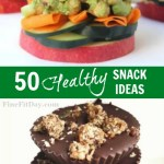 50 Healthy Snack Ideas - Whether you're a food prep queen, or just want to grab something at the store, these healthy snack options are a lifesaver!