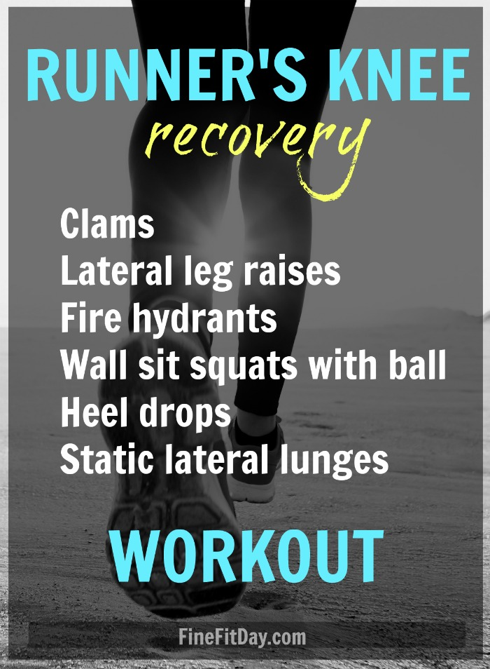 Running injuries suck - so the running coaches and bloggers of the Run It series put together advice and workouts for 6 common running injuries. Runner's Knee workout (click for 5 more!)