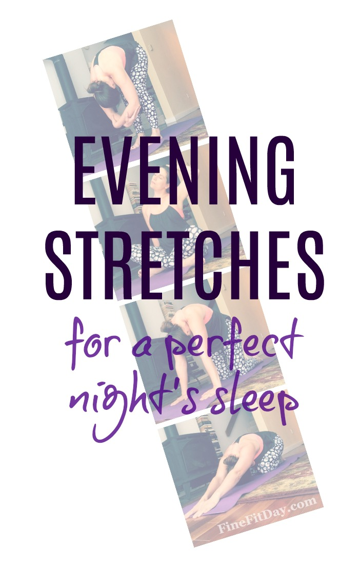 Try this bedtime stretch routine next time you need some help to get to sleep. This is a great routine for relaxation at night!
