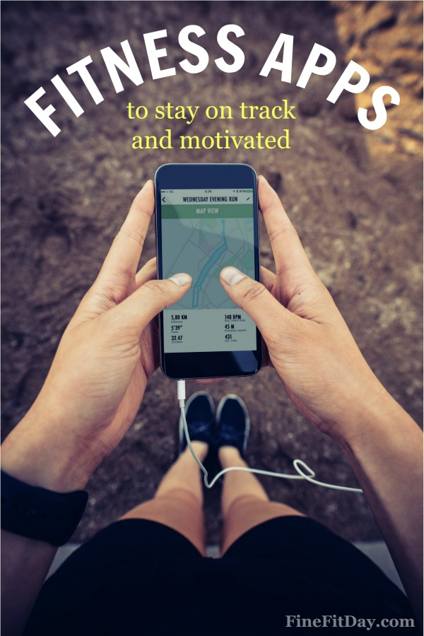 My Favorite Fitness Apps to Stay On Track and Motivated. Here are the apps a running coach and personal trainer uses everyday to stay fit.
