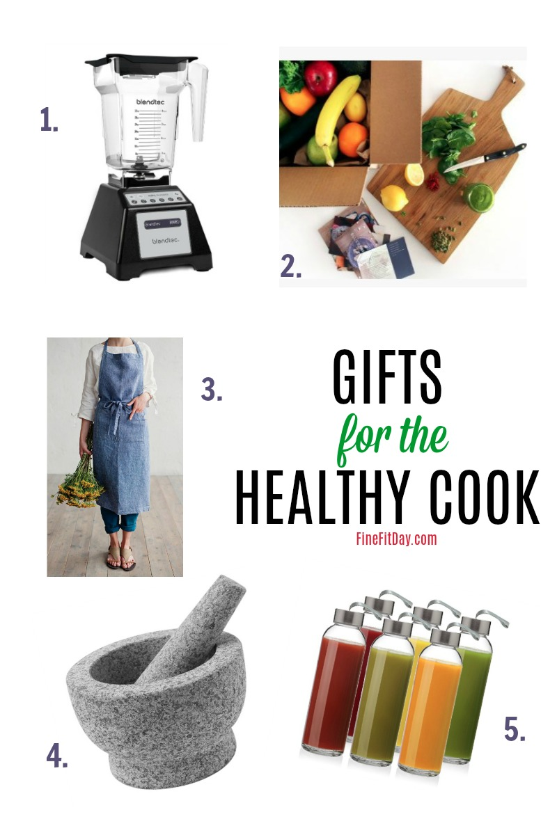 THE gift guide for healthy cooks! If you have a foodie you need a gift for, there are lots of ideas in this list of presents for the health-conscious chef.
