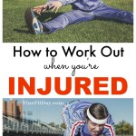 Ouch. You're dealing with injury. If you're an active person, it's a thousand times worse dealing with injury. Here's how to work out when you're injured - safely and effectively.