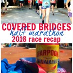 Covered Bridges Half Marathon 2018 Race Recap. This is the prettiest half marathon in New England - find out why this Vermont race sells out in 10 minutes every year!