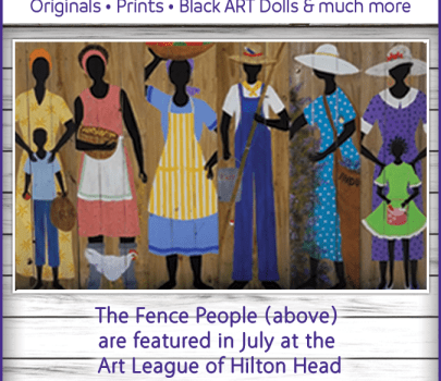 The Fence People will be at The Art League of Hilton Head