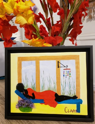 Power Nap Gullah Art by Samantha CLAAR