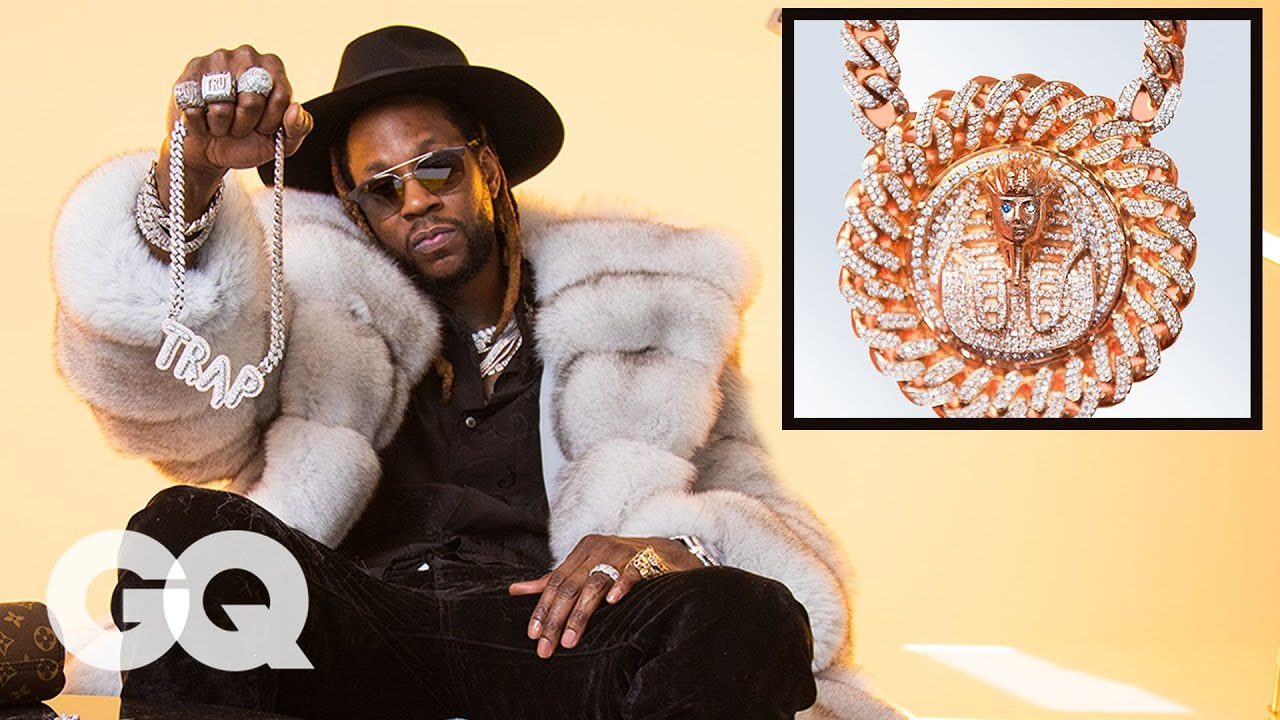 maxresdefault 30 - 2 Chainz Shows Off His Insane Jewelry Collection | GQ