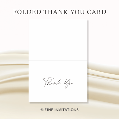 modern wedding thank you cards online