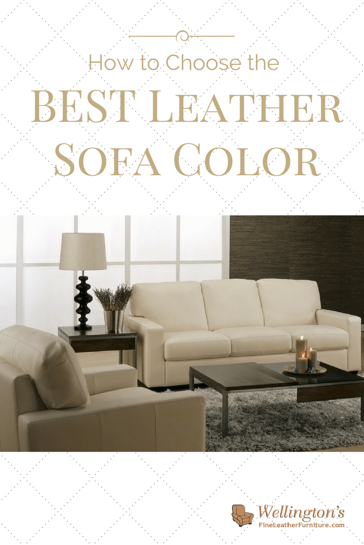 How To Choose The Best Leather Sofa Color For Your Living Room
