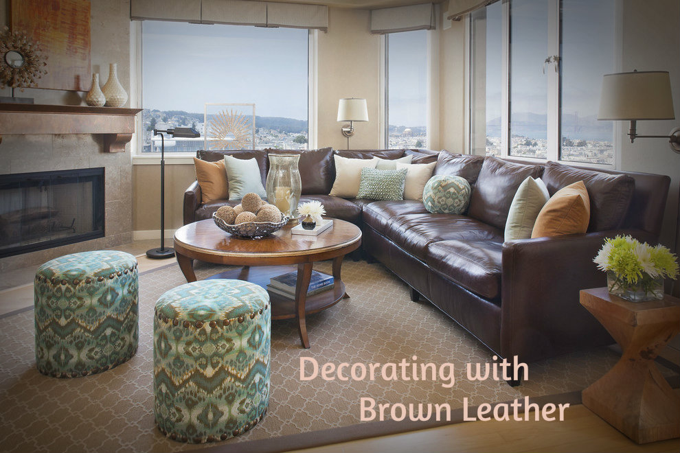 Decorating With Brown Leather Furniture How To Bring Out The Beauty     Decorating With Brown Its common knowledge that leather furniture