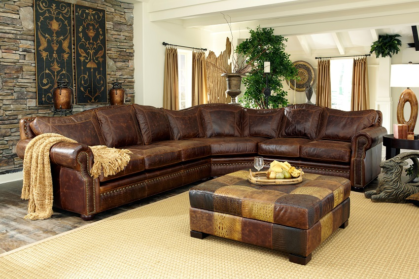 Leather Sectional Sofas Tucson Leather Sectional