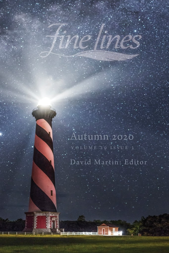2020 autumn cover - lighthouse