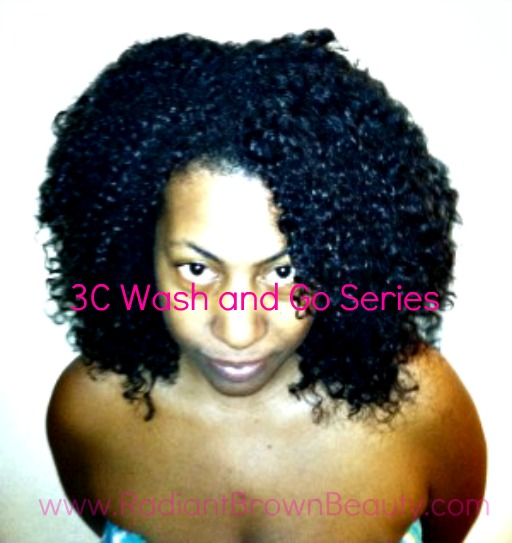 3c curly hair wash and go's