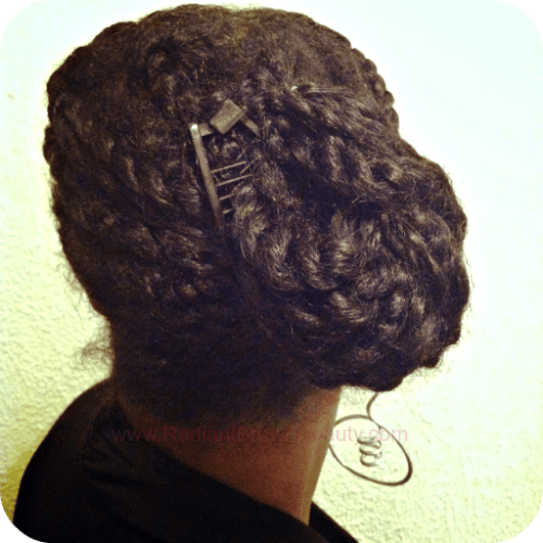twists updo