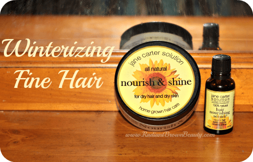 winterizing fine hair