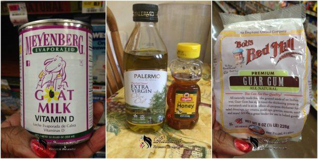 goat milk conditioner recipe