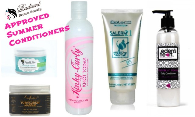 conditioners for summer hair care