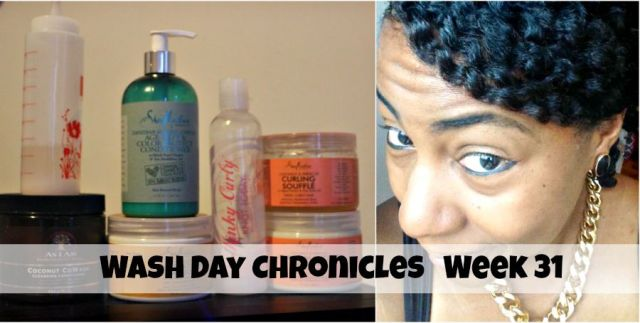fine natural hair wash day