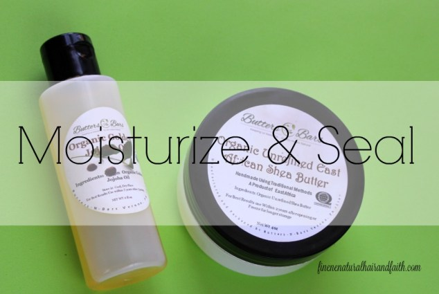 moisturize and seal daily