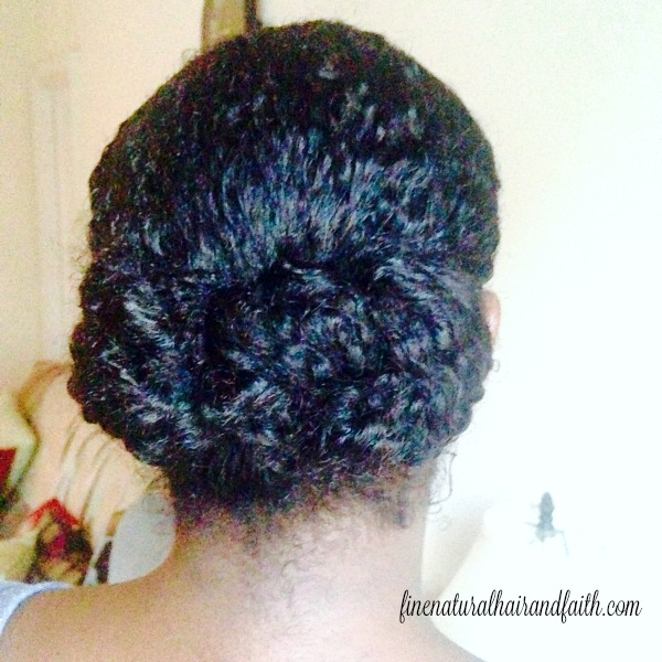 triple low horizontal bun